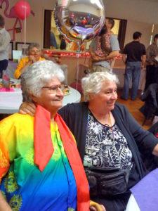 Original Founders at Community Event